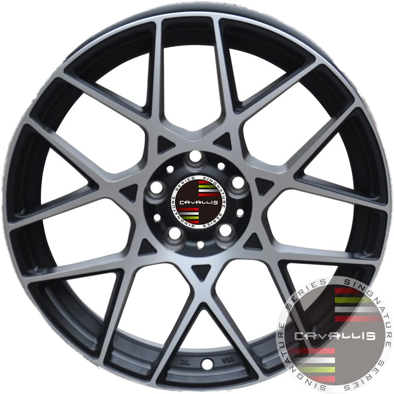 18 INCH UPGRADE OPTIONAL WHEELS ALLOY MACHINED BLACK