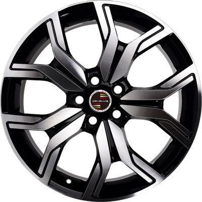 19 INCH,5 HOLES,20 INCH,22 INCH,BLACK PAINTED MACHINED,MATT BLACK PAINTED,REPLICA,RUN FLAT COMPATIBLE,TPMS COMPATIBLE