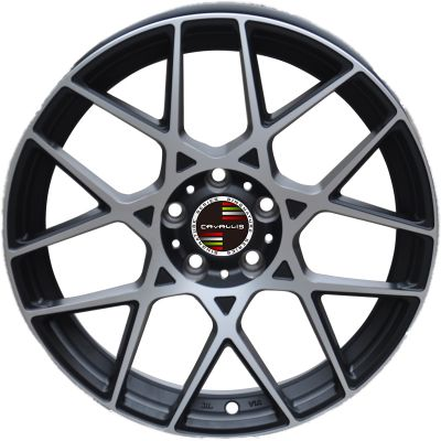 18 INCH,5 HOLES,BLACK PAINTED MACHINED,MATT BLACK PAINTED,SILVER PAINTED MACHINED,REPLICA