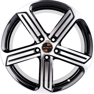 19 INCH,5 HOLES,17 INCH,18 INCH,BLACK PAINTED MACHINED,MATT BLACK PAINTED,REPLICA