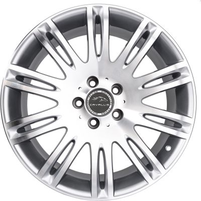 18 INCH,5 HOLES,EXACT-FIT,REPLICA,SILVER PAINTED MACHINED,STAGGERED,TPMS COMPATIBLE,WINTER WHEEL