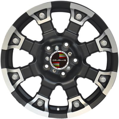 17 INCH,5 HOLES,MATT BLACK PAINTED,20 INCH,6 HOLES